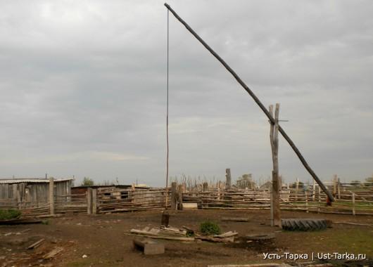 Водопровод в деревне Воробьи