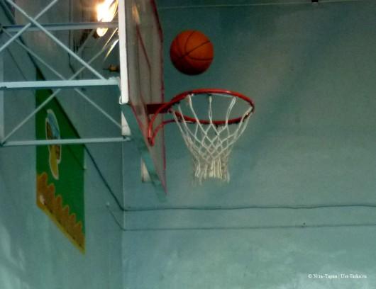 Баскетбол в Усть-Тарке