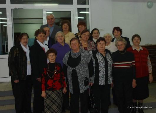 встреча клубов ветеранов