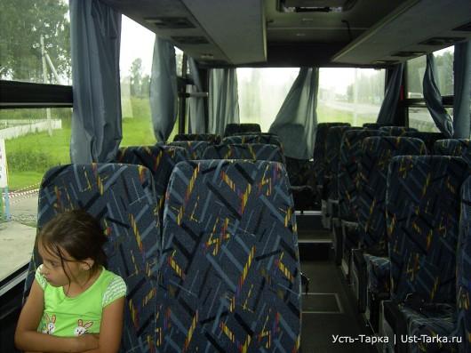 Автобусом из Новосибирска