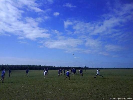 Первенство района по дворовому футболу