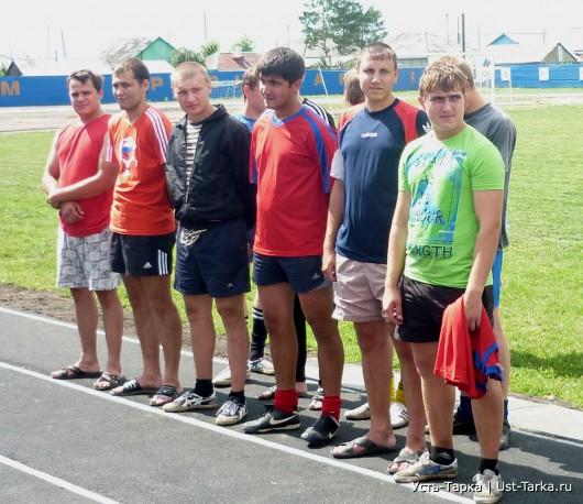 Футбол в Усть-Тарке