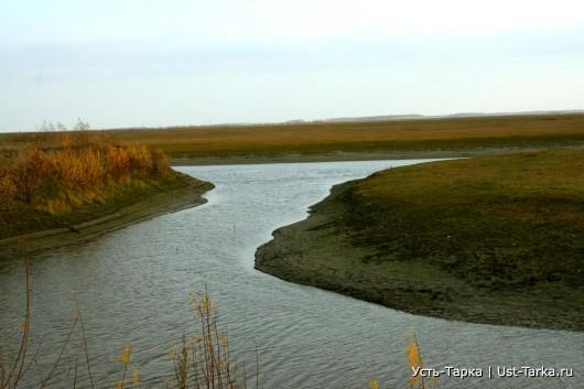 Там, где речушка Тарка впадает в речку Омку