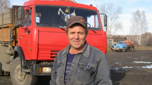 Урожайные километры Александра Левина