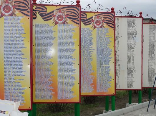 памятник воинам-землякам