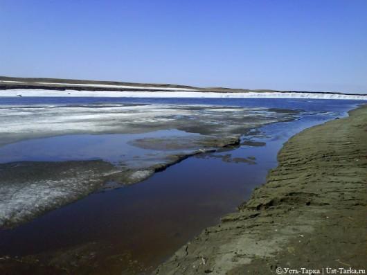 Ледоход на реке Омь