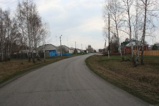 Ранняя весна в Усть-Тарке