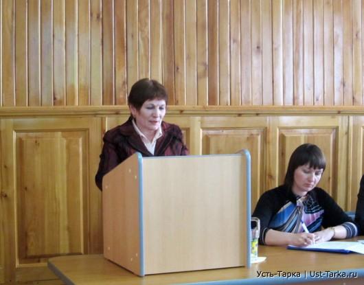 Об исполнении бюджета Усть-Таркского района за 2011 год