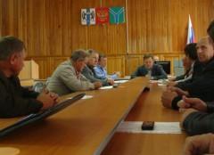 Визит министра в Усть-Таркский район