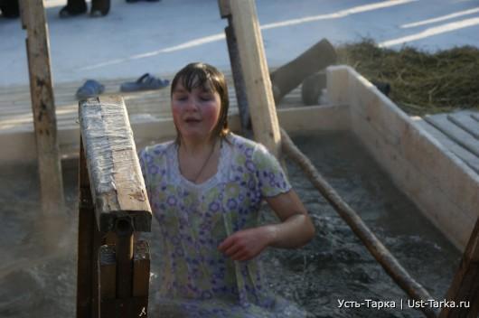 Крещенская купель: более 1200 человек окунулись в освященную воду реки Омь