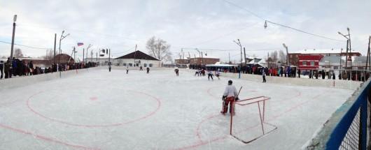 Усть-Таркские хокеисты возвращаются с III местом