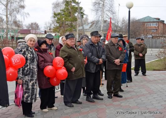 Первомай в Усть-Тарке