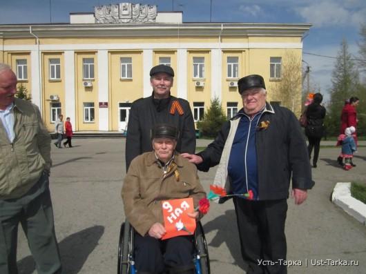 9 мая в Усть-Тарке