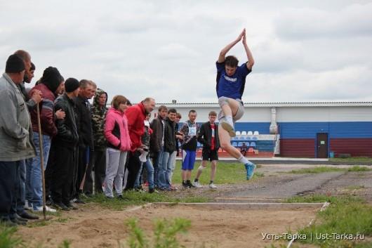 Финал IX летних сельских спортивных игр Усть-Таркского района
