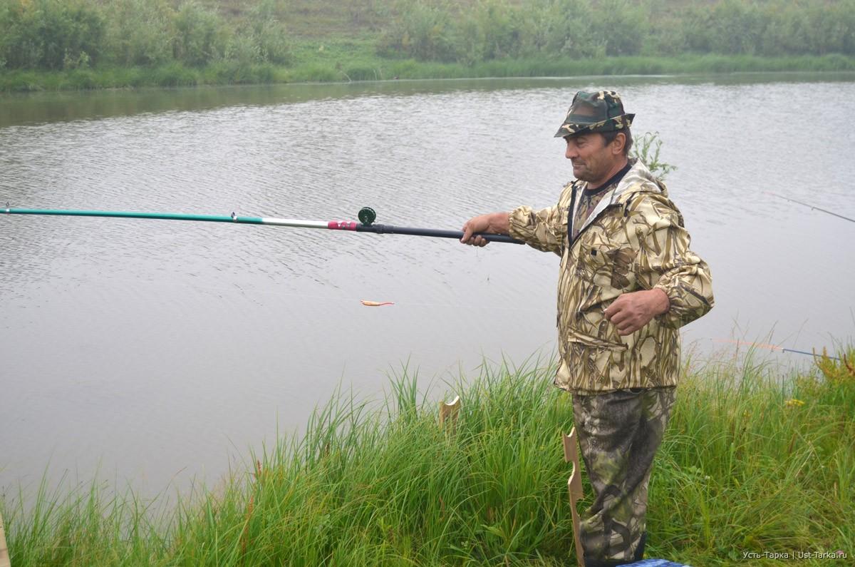 рыбалка во  усть тарке