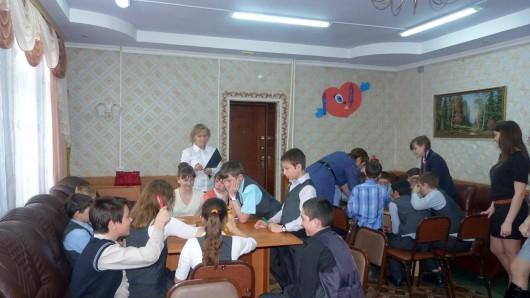 Мы живем в Усть-Тарке